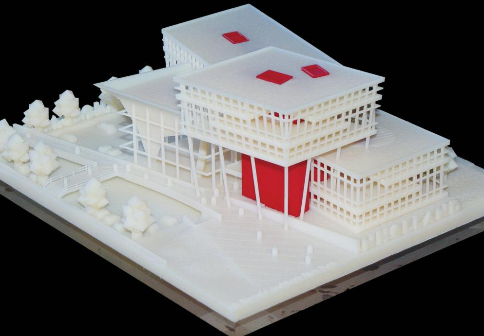 3D프린터 활용 건축 모형 제작 사례