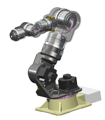 7축 다관절 중공축 로봇