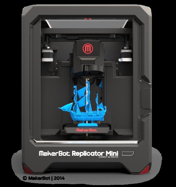 컴팩트 3D 프린터 MakerBot Replicator