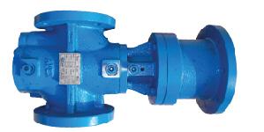 Three spindle screw pump