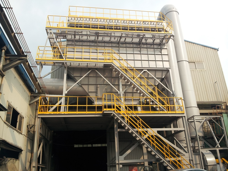 Dry Dust Collector(BAG FILTER)