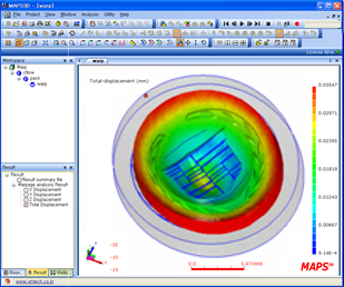MAPS-3D (Mold Analysis and Plastics Solutions - 3 Dimension)