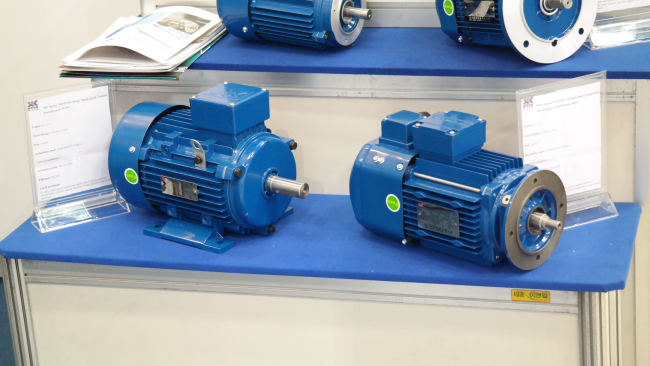Thress phase asynchronous electric motor