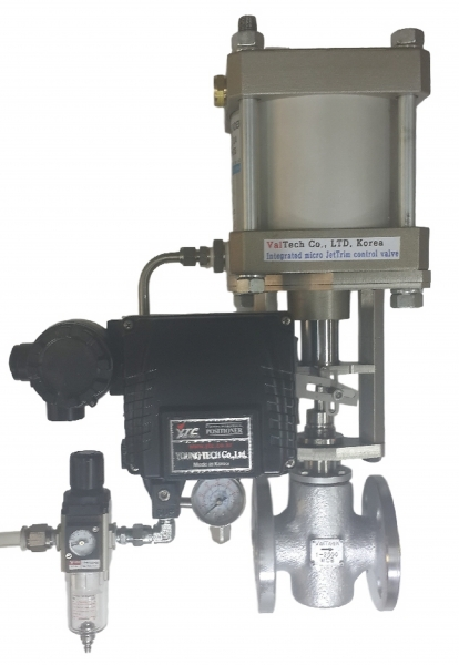 Integrated (Steam + Oil + Gas) Micro Pneumatic Control Valve