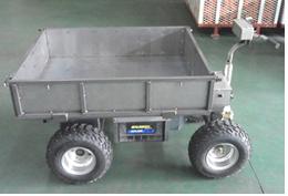 자동주행이 가능한 다방향 덤프시스템 방식의 물류 수송용 지능형기계