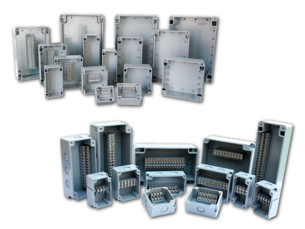 Aluminum /PVC Terminal Boxes