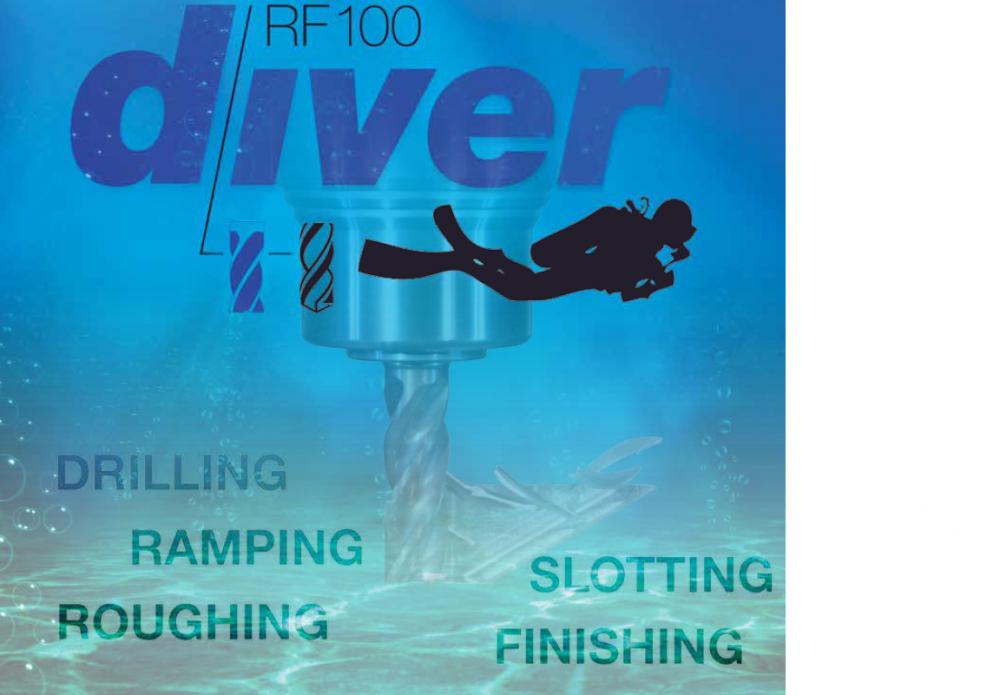 RF100 Diver Endmill