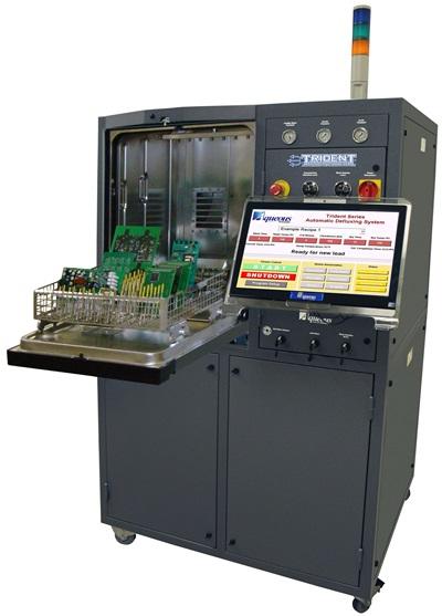 PCB 모듈 수 세정 및 이온오염도 측정 장비