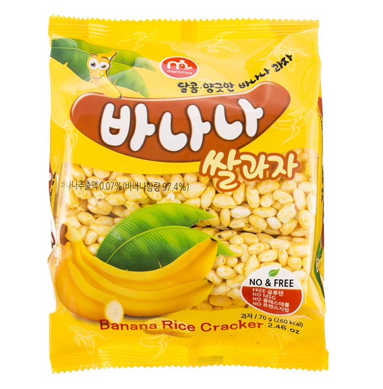 바나나쌀과자