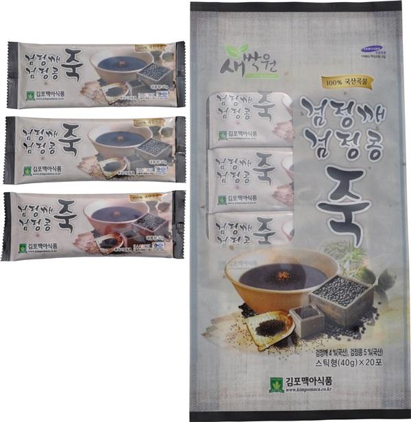 검정깨검정콩죽(스틱)