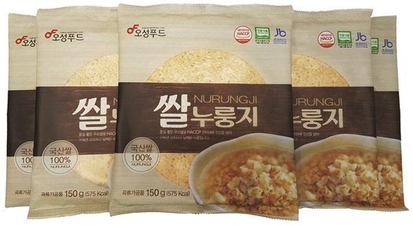 쌀 누룽지, 현미누룽지