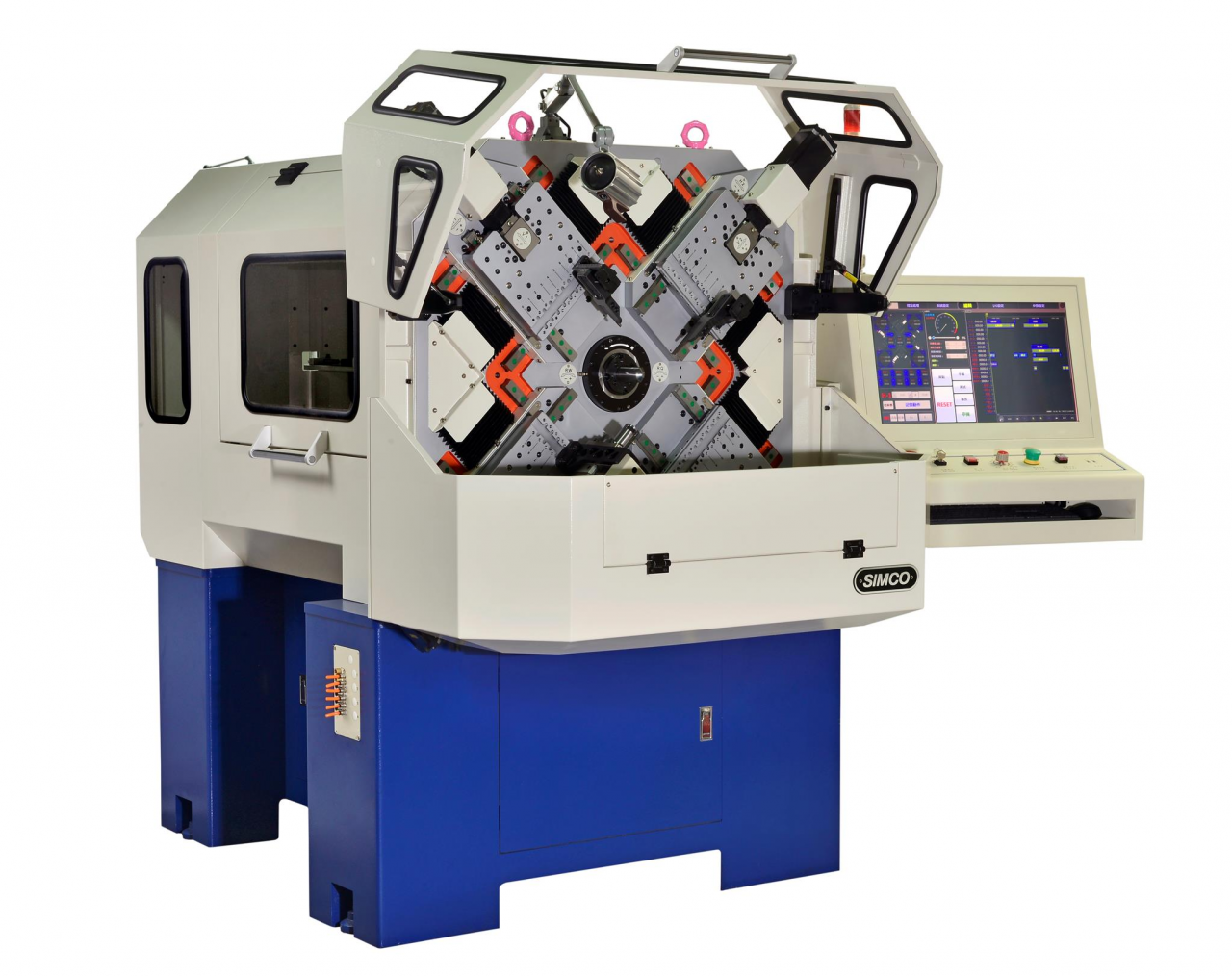 MODEL : SFX-20 / CNC CAMLESS SPRING FORMING CENTER