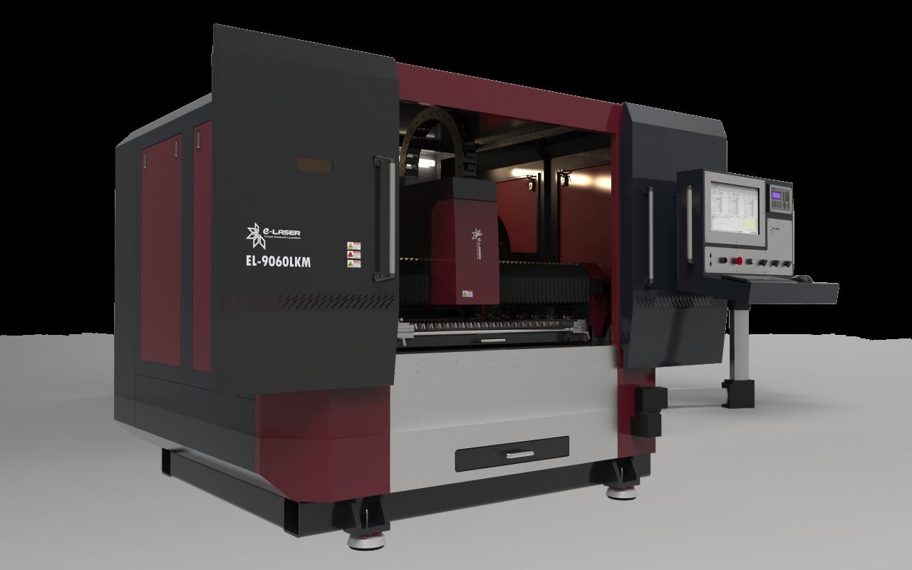 Fiber laser cutting machine EL-9060LKM