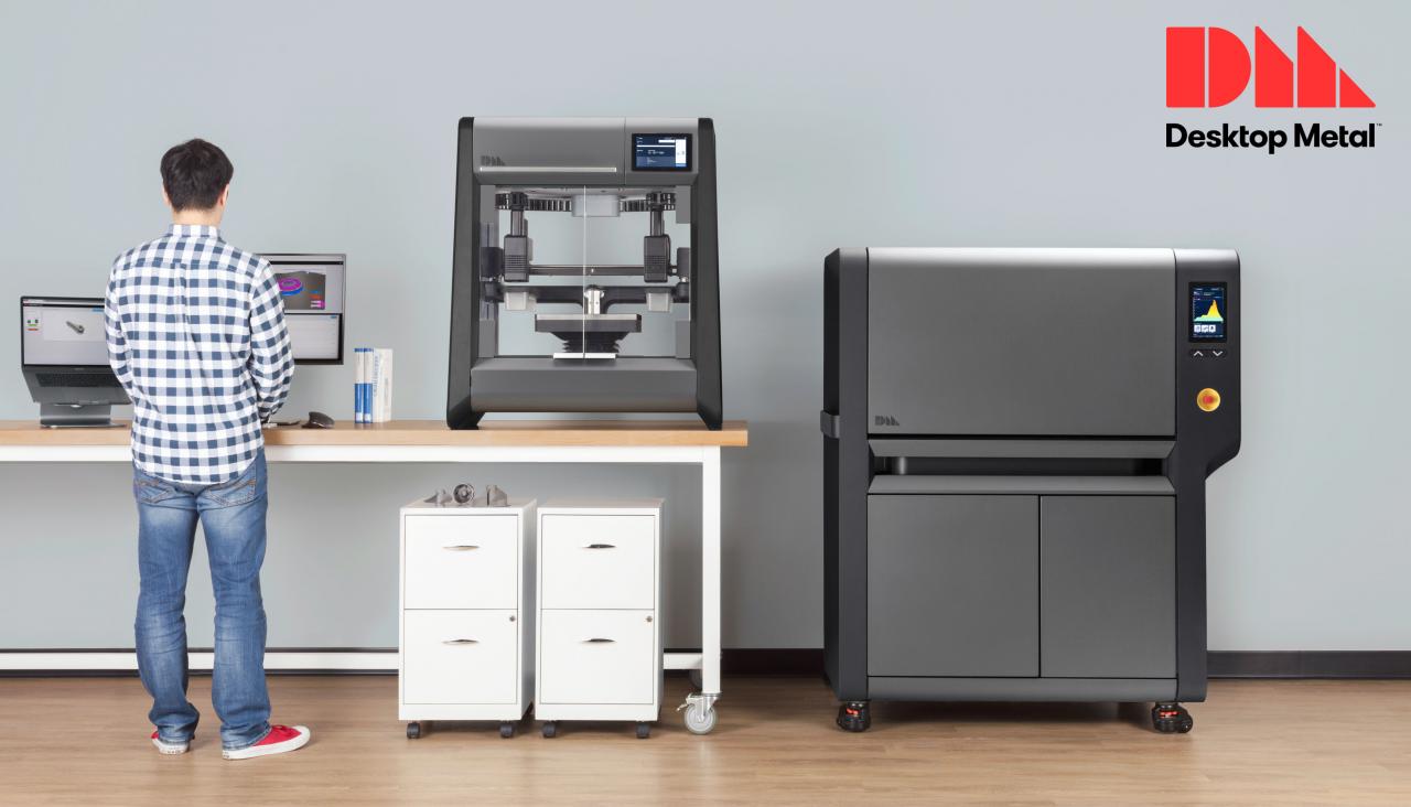 금속 3D프린터 (제조사: Desktop Metal, 모델명: Studio System)