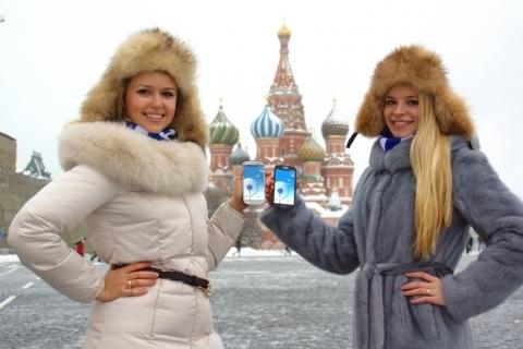 러시아 최초 LTE 스마트폰 출시