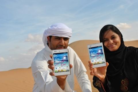 중동 아랍에미리트에 등장한 '옵티머스 Vu:(뷰)'