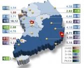 전국 표준지 공시지가 3.64% 상승