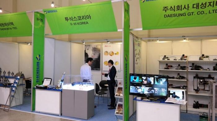 [BUTECH 2015] 투식스코리아, 스캐닝 레이저 시스템 렌즈 선보여