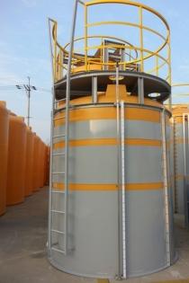 특수성형 된 PE약품탱크 원형 화학탱크