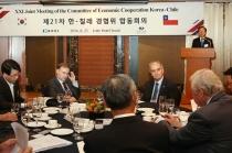 한-칠레, 세계경제회복 위한 협력 강화