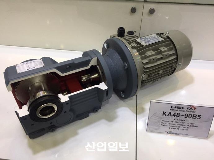 엘에스지엠, 강하고 긴 수명의 감속기, 'LS-Drive' 출품