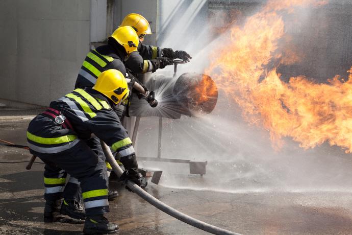 구미공단 공장 화재, 정확한 화재원인 조사 중