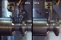 물리기반 절삭엔진 통해 사이클 시간 41초에서 27초로 단축