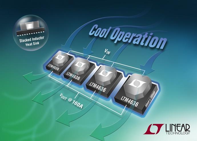 리니어테크놀로지, 40A Module 레귤레이터 LTM4636 - 다아라매거진 제품리뷰