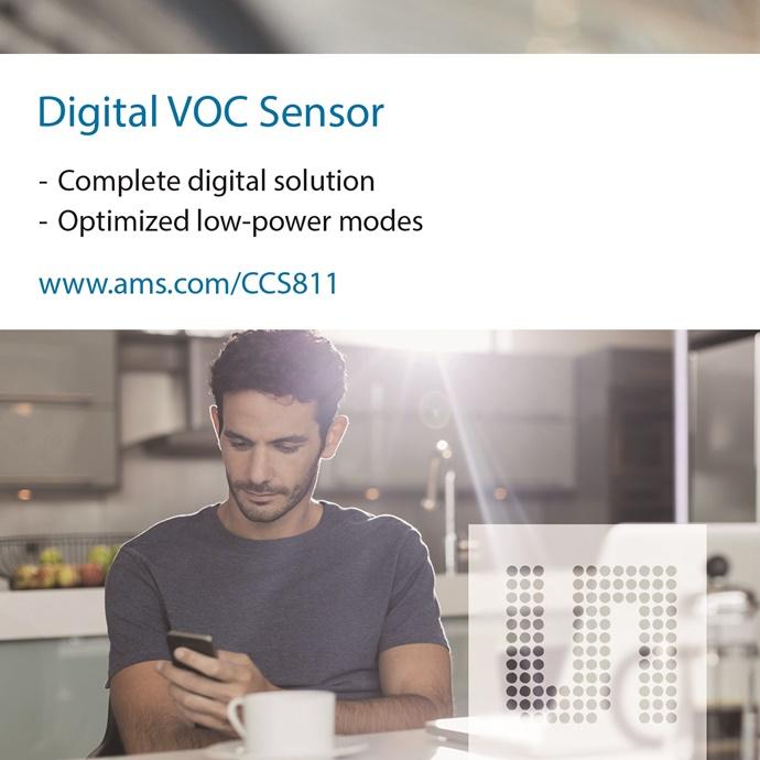 ams, 환경 센서 평가 키트 CCS811&CCS801 - 다아라매거진 제품리뷰