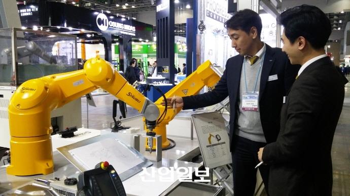[인터몰드 2017] 스토브리코리아, 4차 산업혁명 대응한 산업용 안전 로봇 선보여