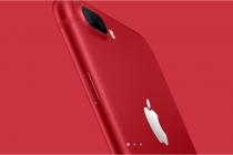 애플, 아이폰8 출시 앞서 아이폰7레드 선보여