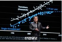"""엔비디아 젠슨 황 CEO, """"AI의 미래 가속화될 것"""""""
