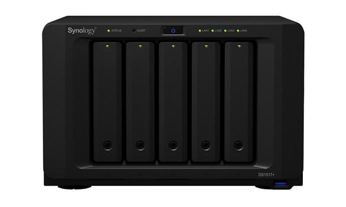 [New Tech & New Products] 시놀로지, 디스크스테이션 DS1517+ - 다아라매거진 제품리뷰