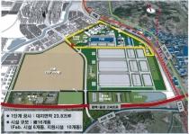 삼성 평택반도체 공장 첫 가동, 추가 조성 지원 협력 약속