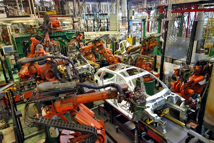 자동차·전자부품 증가에 제조업 생산↑
