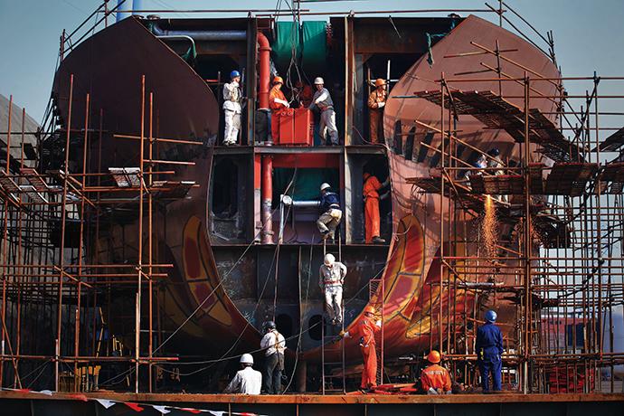 [ShipbuildingⅡ]지난해 신조선 시황, 90년대 이후 최악 침체기 맞더니… - 다아라매거진 매거진뉴스