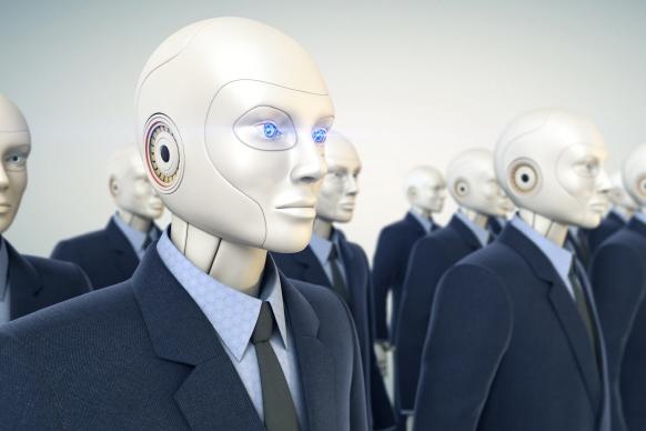 인공지능 탑재 로봇 은행 투입, 4년 내 구조조정 불가피