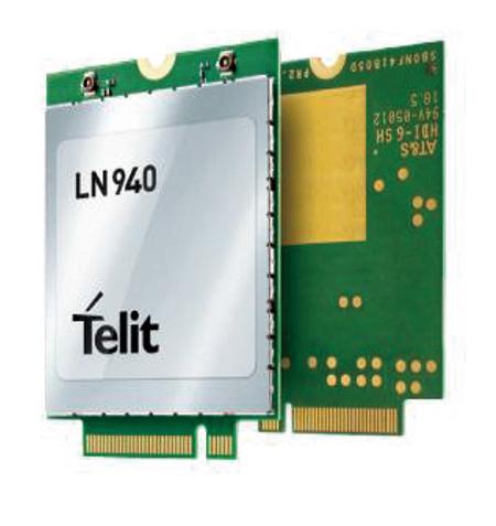 [신제품&신기술]텔릿, LN940 LTE Cat 6, 9, 11 지원 - 다아라매거진 제품리뷰