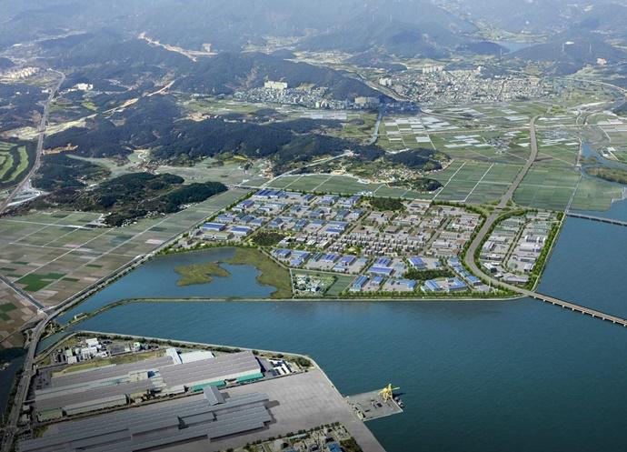 광양세풍산업단지, '외국인 투자지역' 지정