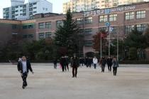 """[포토뉴스] 2018 수능 제4교시 종료…""""춥다, 집에가자"""""""