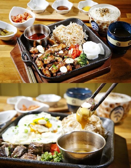 홍대 맛집 '모모스테이크'에서 가성비 좋은 스테이크 세트 즐기기