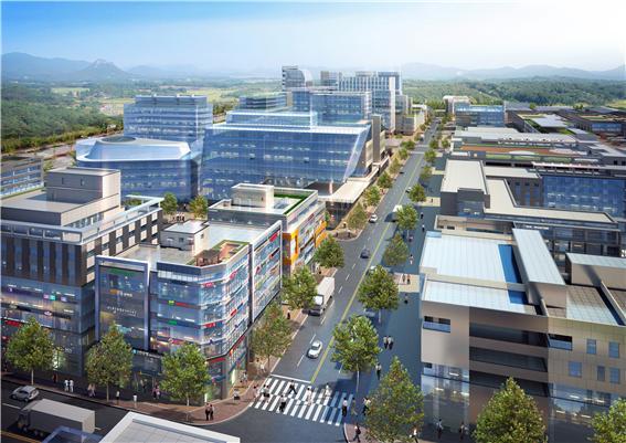104만3천727㎡ 규모 충북혁신도시 배후 금왕테크노밸리 산업단지 조성