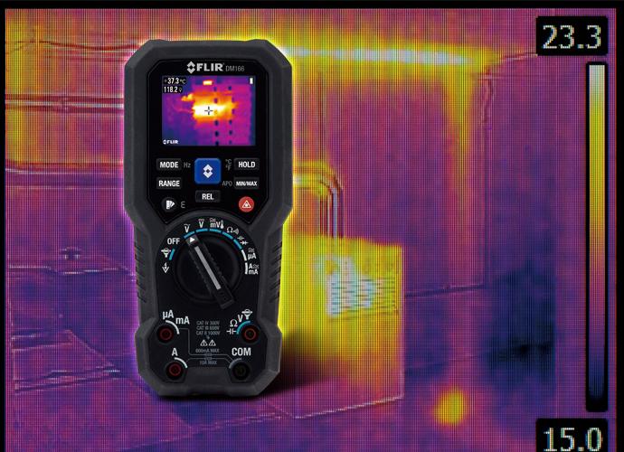 [신제품&신기술] 플리어, FLIR DM166, FLIR DM285 디지털 멀티미터 - 다아라매거진 제품리뷰