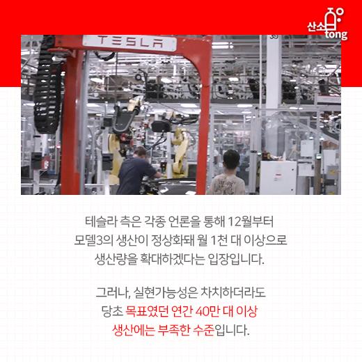 [카드뉴스] 잘 나가던 테슬라, 생산지연에 보조금 중단, 직원해고 등 각종 악재 터져