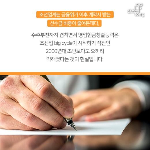 [카드뉴스] 삼성중공업·현대중공업, 대규모 유상증자에 조선업계 '얼음'