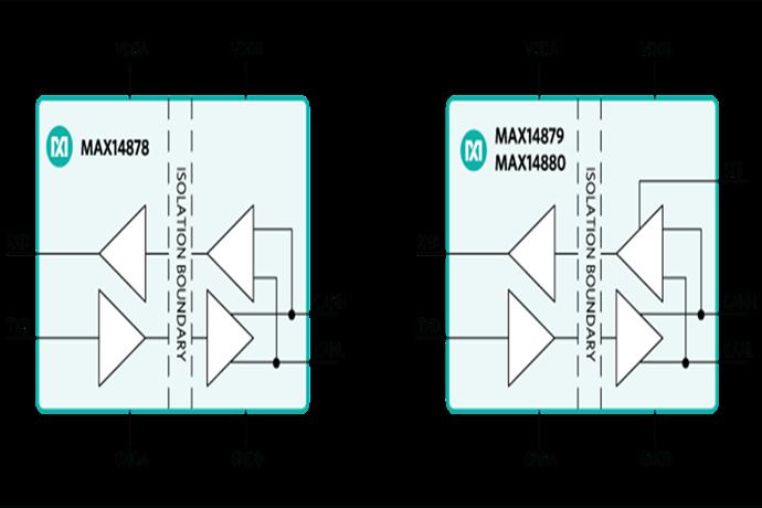 [New Tech & New Products]맥심, 절연 CAN 트랜시버 'MAX14878', 'MAX14879', 'MAX14880' - 다아라매거진 제품리뷰