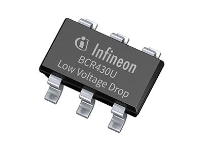 인피니언, 정전류 선형 LED 드라이버 IC BCR430U - 다아라매거진 제품리뷰