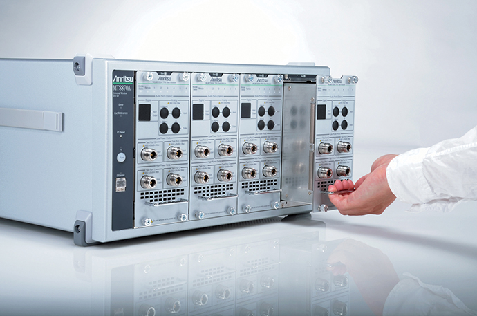안리쓰, MT8870A 소프트웨어 옵션 - 다아라매거진 제품리뷰