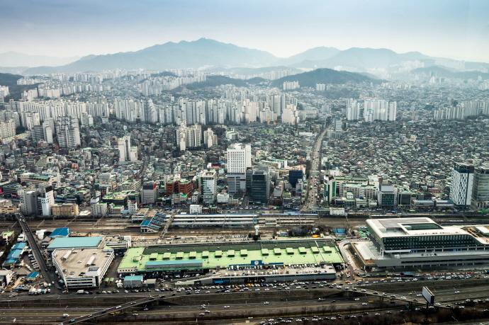 서울서 가장 밀집률 높은 업종은 부동산