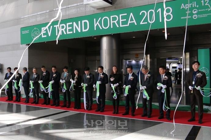 [동영상뉴스] 전기차 기술 한눈에 'EV TREND KOREA 2018'